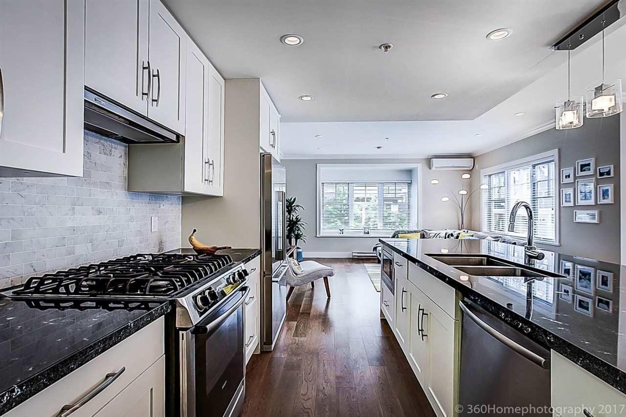 Townhouse at 1489 TILNEY MEWS, Vancouver West, British Columbia. Image 8