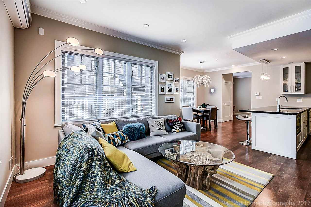 Townhouse at 1489 TILNEY MEWS, Vancouver West, British Columbia. Image 9