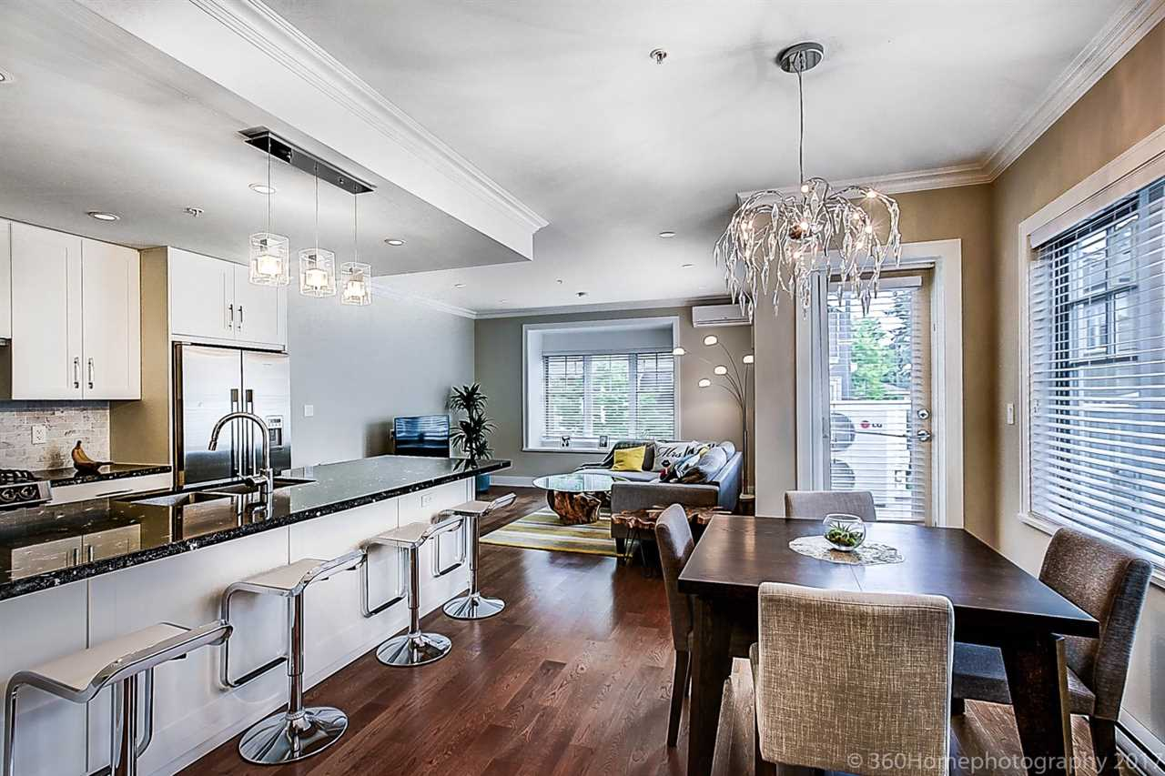 Townhouse at 1489 TILNEY MEWS, Vancouver West, British Columbia. Image 11