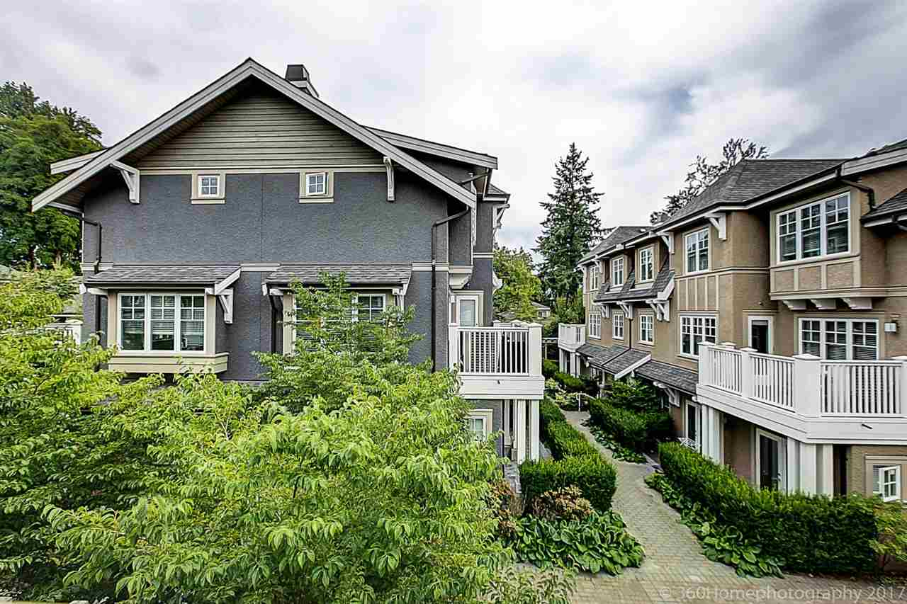 Townhouse at 1489 TILNEY MEWS, Vancouver West, British Columbia. Image 20