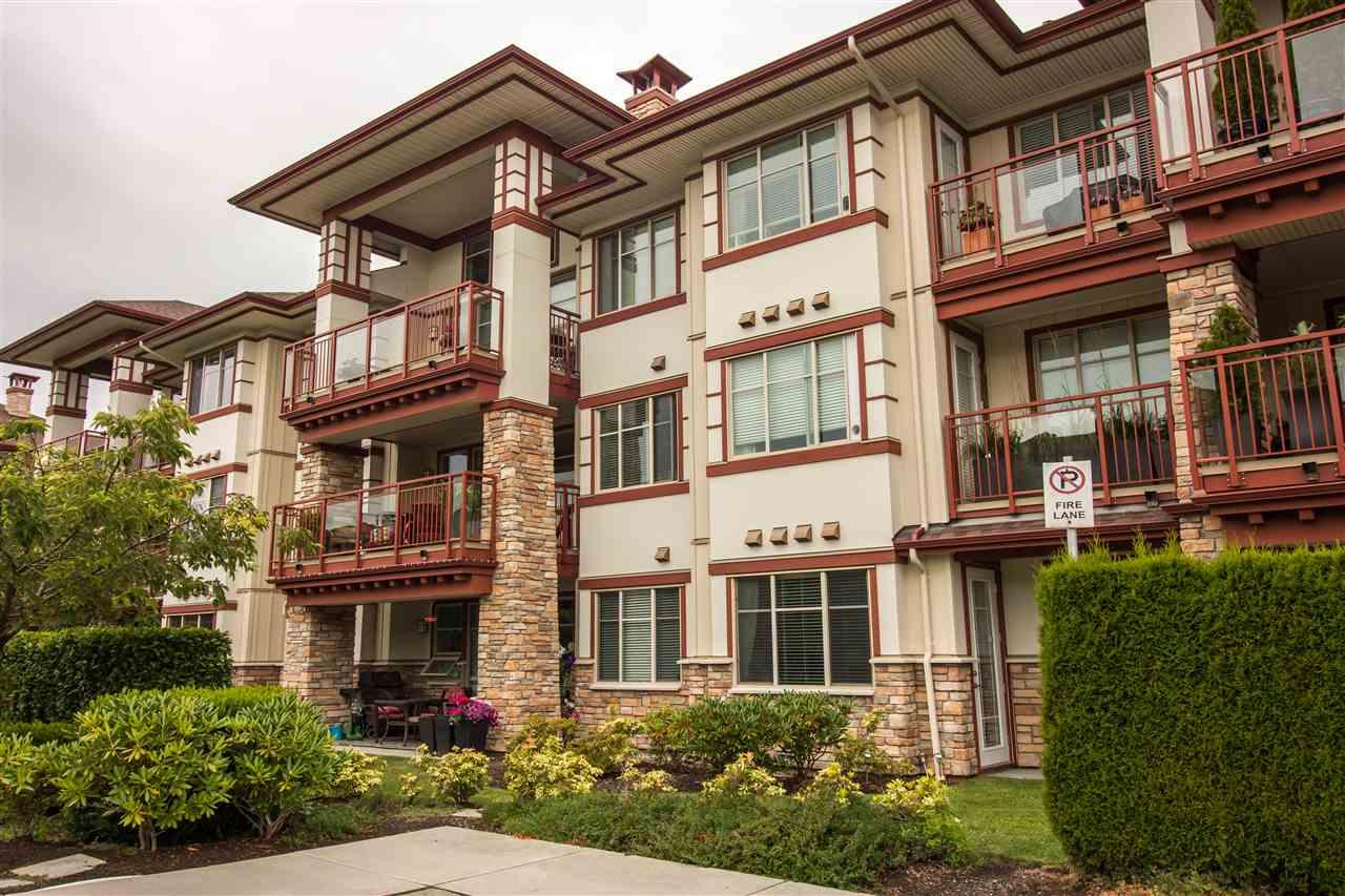 Condo Apartment at 206 16455 64TH AVENUE, Unit 206, Cloverdale, British Columbia. Image 1