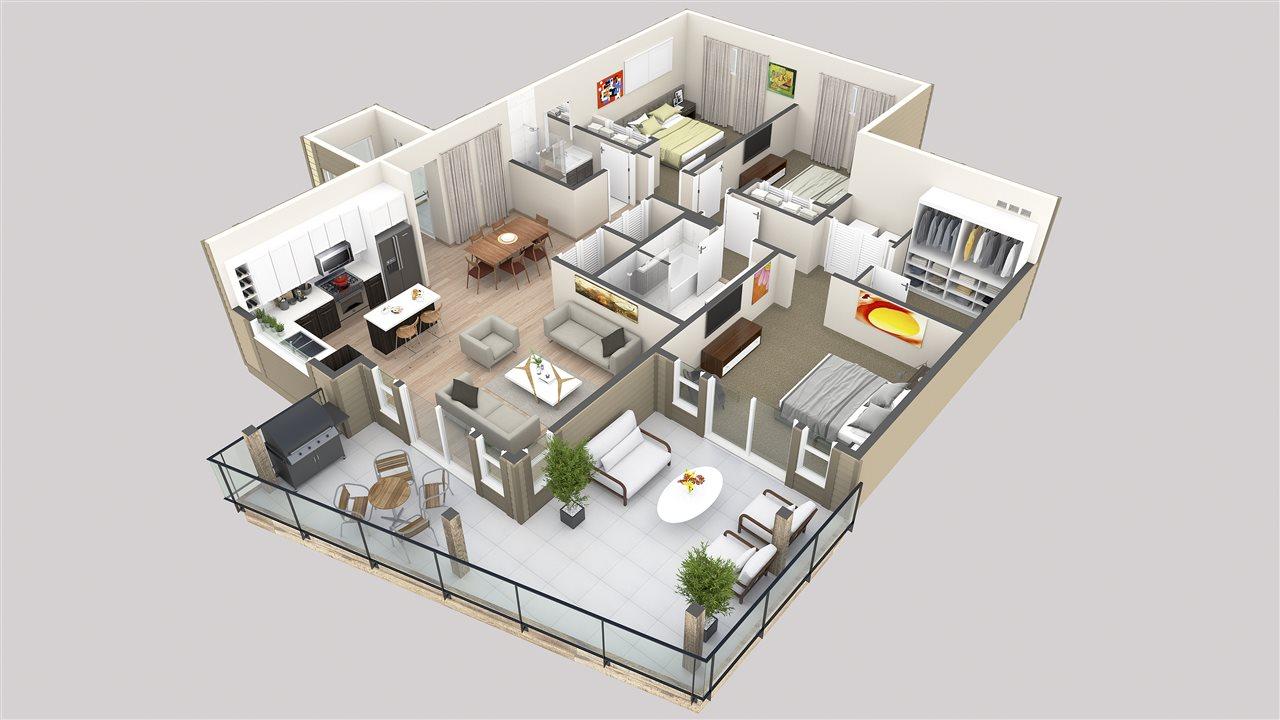Condo Apartment at 101 5782 MARINE WAY, Unit 101, Sunshine Coast, British Columbia. Image 2