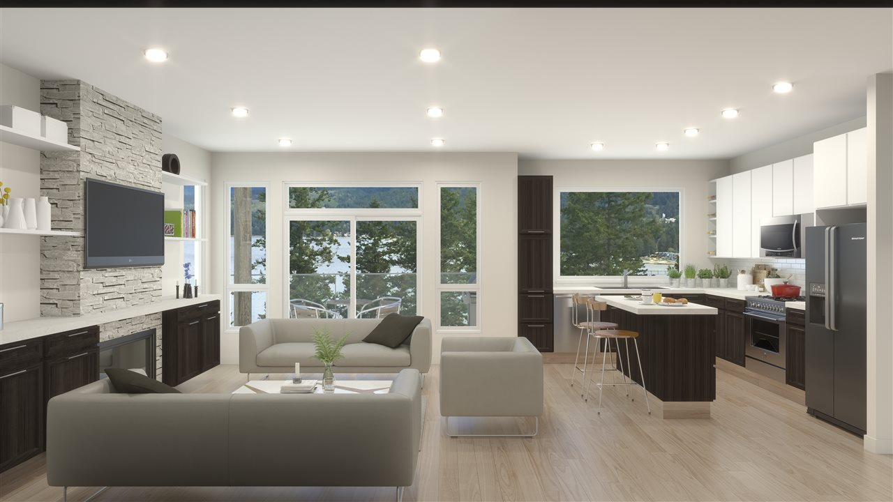 Condo Apartment at 101 5782 MARINE WAY, Unit 101, Sunshine Coast, British Columbia. Image 3