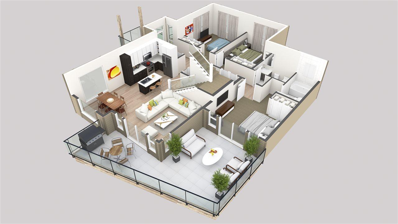 Condo Apartment at 201 5782 MARINE WAY, Unit 201, Sunshine Coast, British Columbia. Image 6