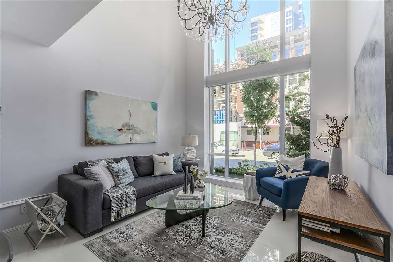 Townhouse at 1110 HORNBY STREET, Vancouver West, British Columbia. Image 1