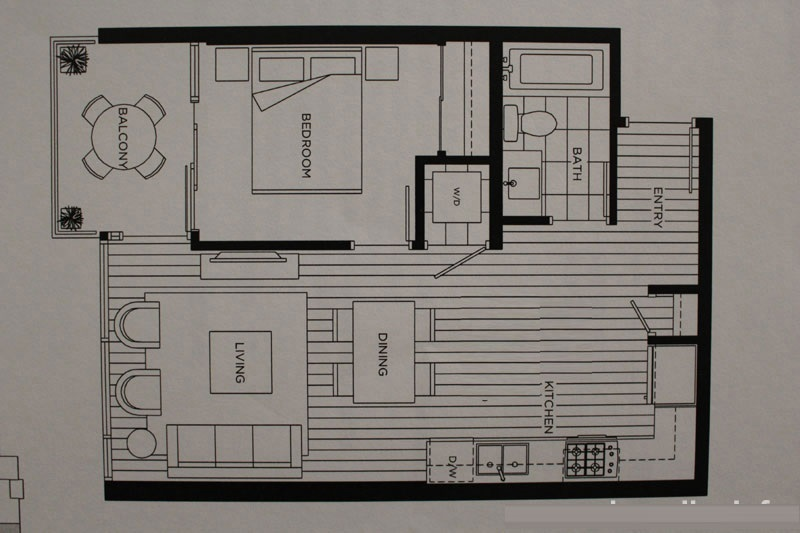 Condo Apartment at 1201 6971 ELMBRIDGE WAY, Unit 1201, Richmond, British Columbia. Image 2