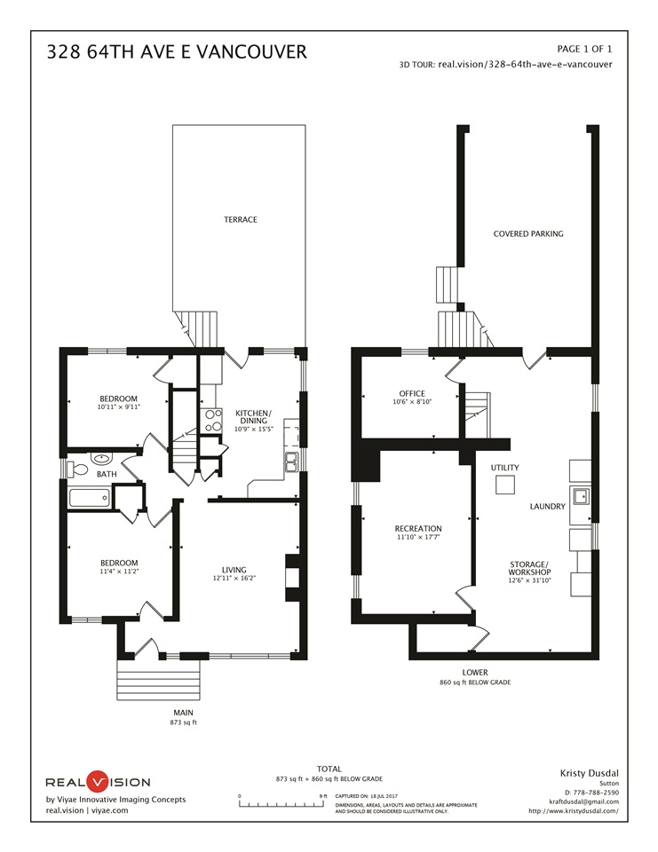 Detached at 328 E 64TH AVENUE, Vancouver East, British Columbia. Image 20