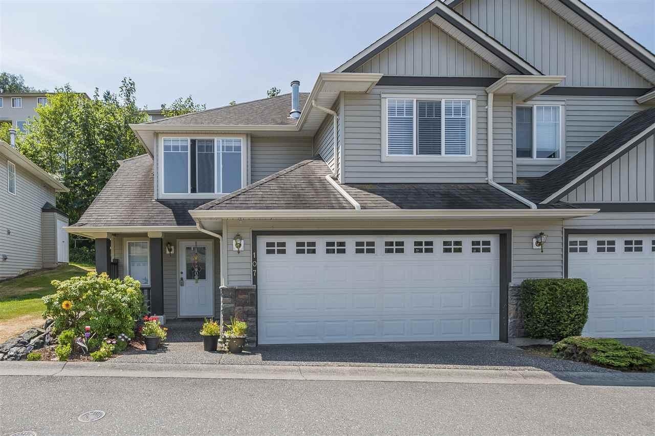 Townhouse at 107 46360 VALLEYVIEW ROAD, Unit 107, Sardis, British Columbia. Image 1
