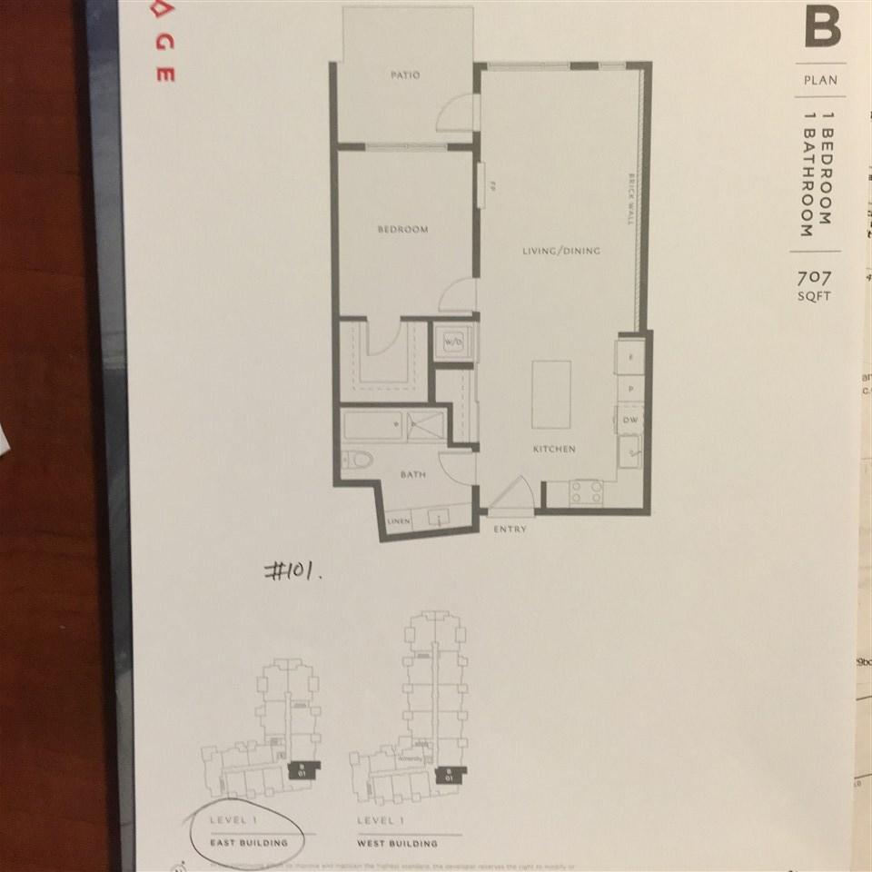 Condo Apartment at 101 260 SALTER STREET, Unit 101, New Westminster, British Columbia. Image 3