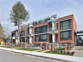 Townhouse at 6350 ASH STREET, Vancouver West, British Columbia. Image 1