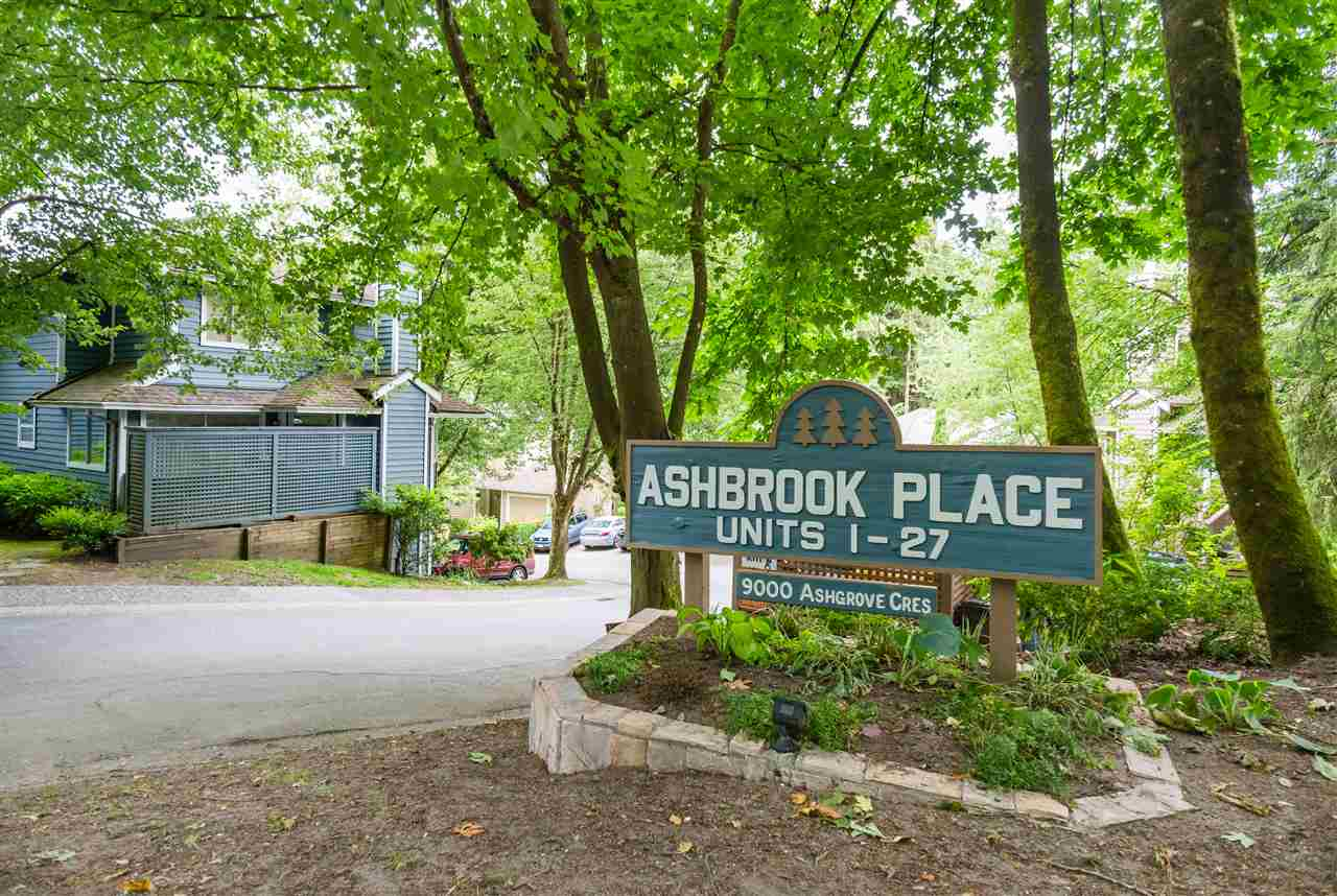 Townhouse at 17 9000 ASH GROVE CRESCENT, Unit 17, Burnaby North, British Columbia. Image 1