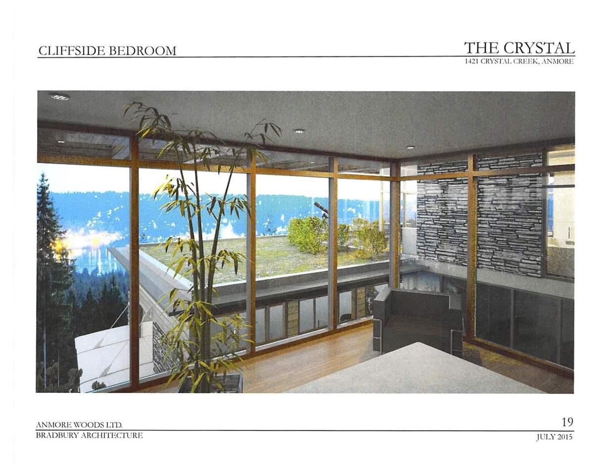 Vacant Land at 1421 CRYSTAL CREEK DRIVE, Port Moody, British Columbia. Image 3