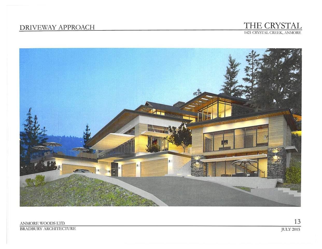Vacant Land at 1421 CRYSTAL CREEK DRIVE, Port Moody, British Columbia. Image 5