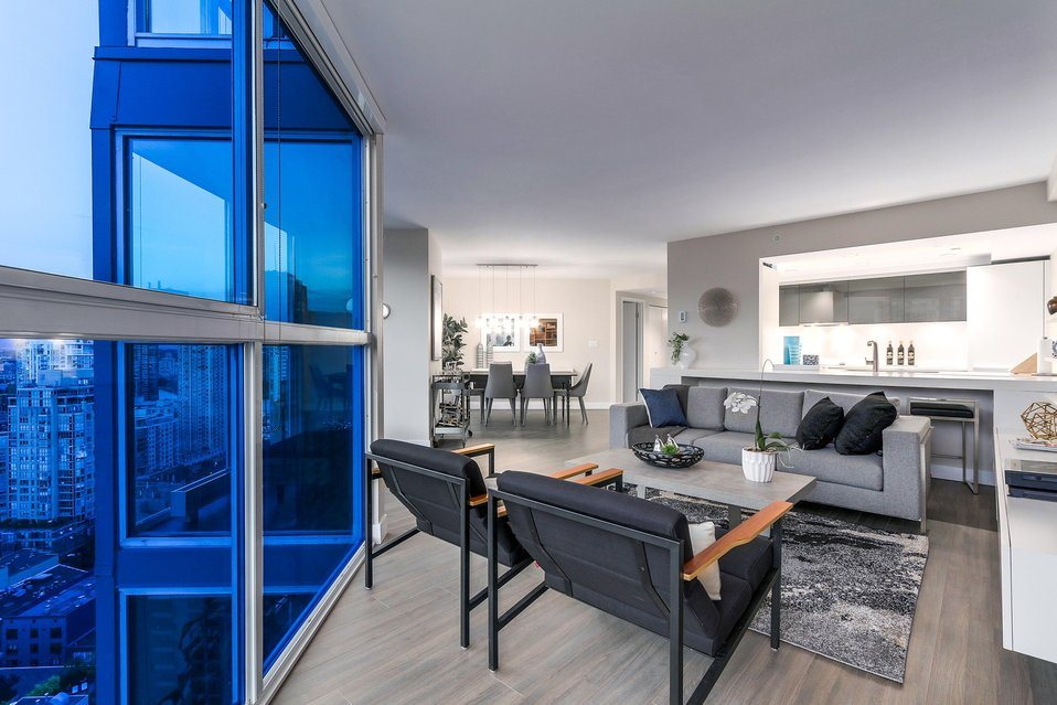 Condo Apartment at 2801 1323 HOMER STREET, Unit 2801, Vancouver West, British Columbia. Image 7