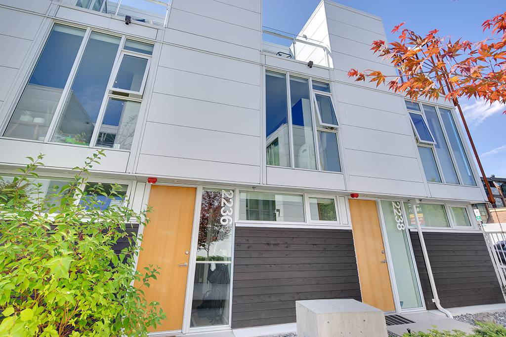 Townhouse at 2236 WILLOW STREET, Vancouver West, British Columbia. Image 1