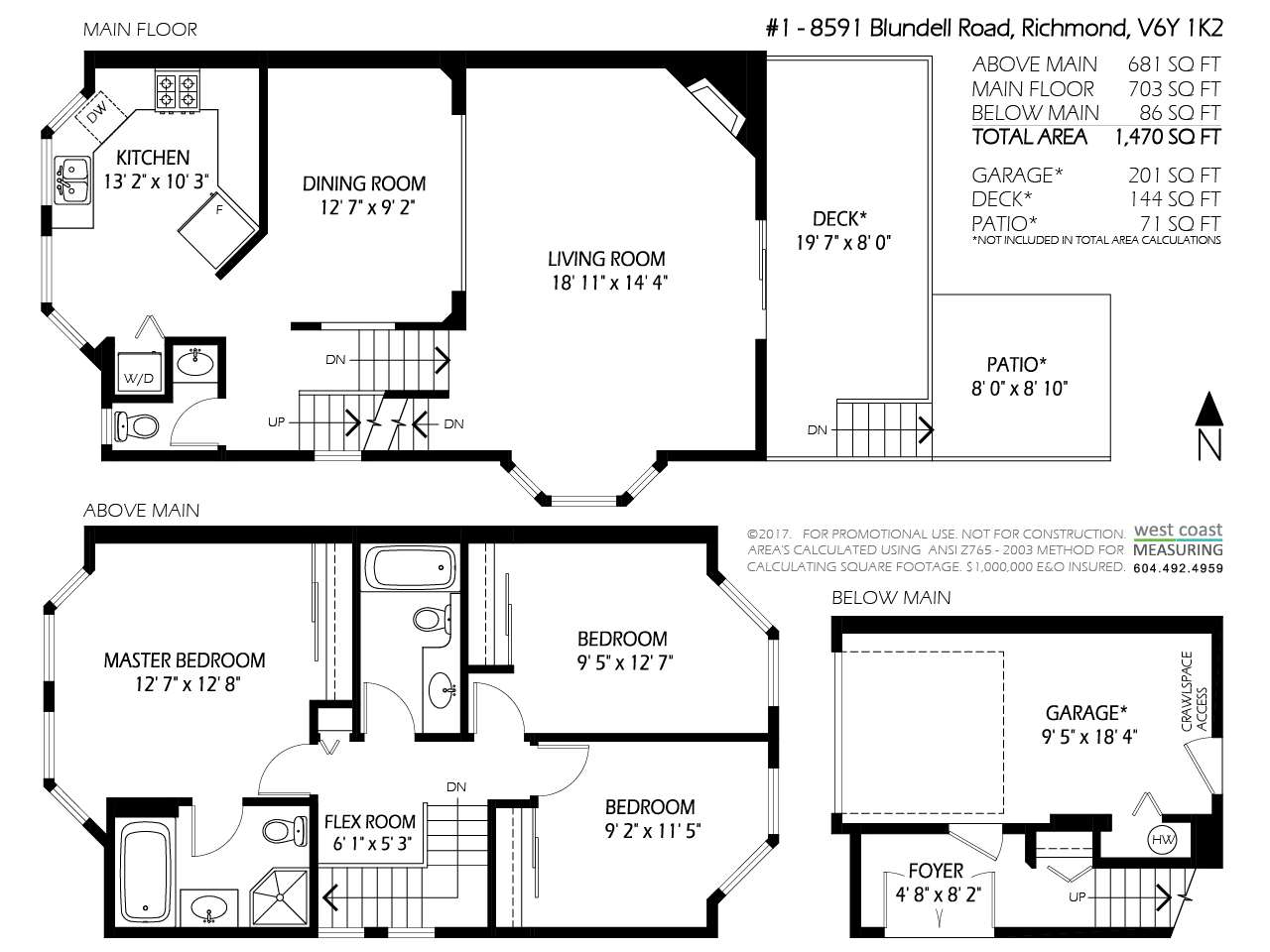 Townhouse at 1 8591 BLUNDELL ROAD, Unit 1, Richmond, British Columbia. Image 20