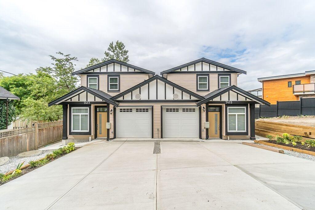 Half-duplex at 7415 WILLARD STREET, Burnaby South, British Columbia. Image 1