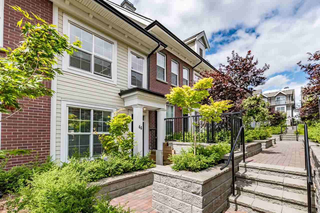 Townhouse at 46 7458 BRITTON STREET, Unit 46, Burnaby East, British Columbia. Image 1