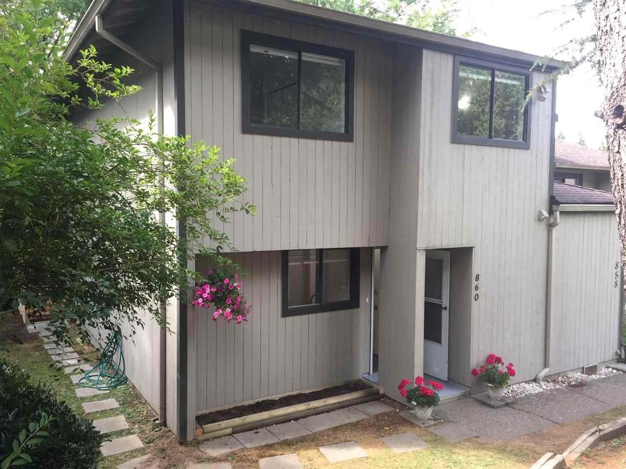 Townhouse at 860 BLACKSTOCK ROAD, Port Moody, British Columbia. Image 1