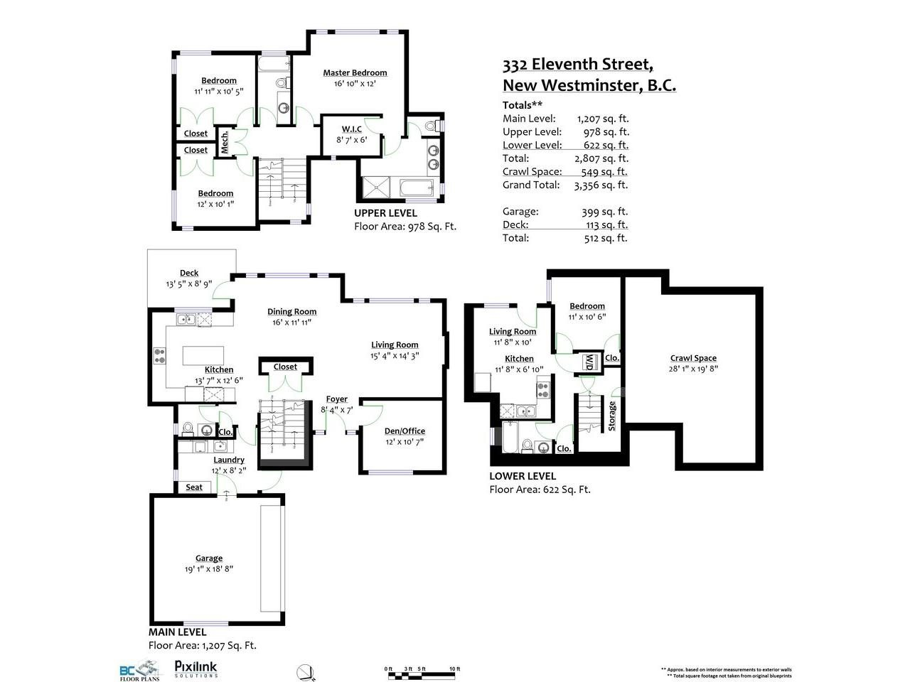 Detached at 332 ELEVENTH STREET, New Westminster, British Columbia. Image 20