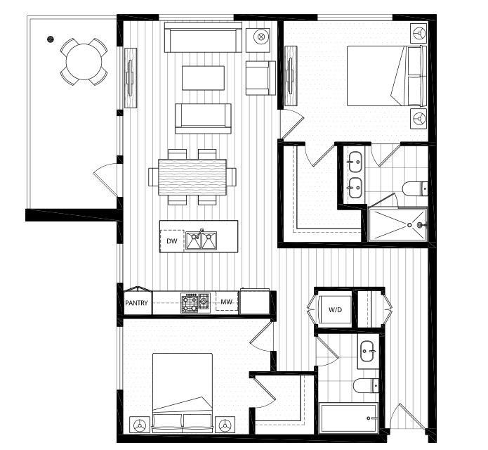 Condo Apartment at 512 516 FOSTER AVENUE, Unit 512, Coquitlam, British Columbia. Image 9