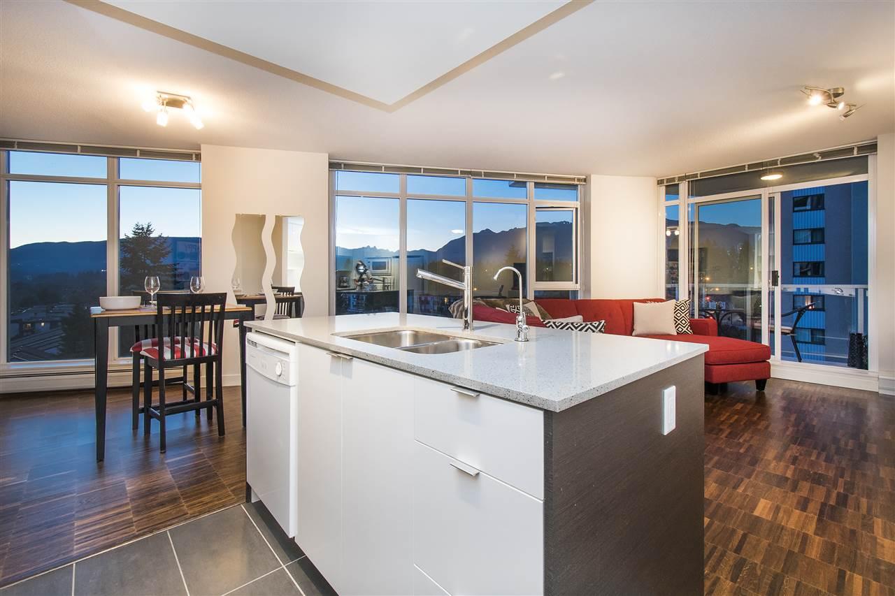 Condo Apartment at 802 175 W 2ND STREET, Unit 802, North Vancouver, British Columbia. Image 1
