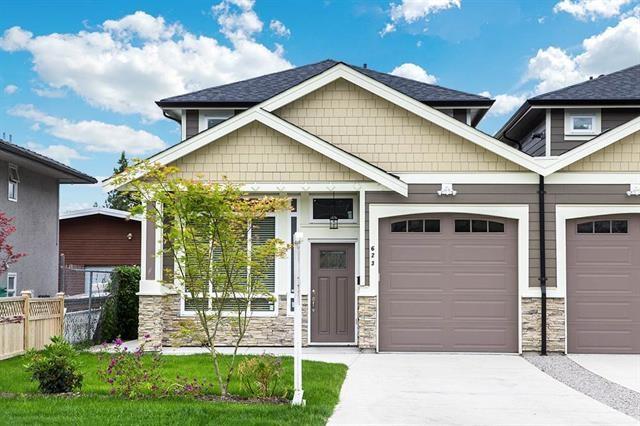 Half-duplex at 623 CLIFF AVENUE, Burnaby North, British Columbia. Image 1