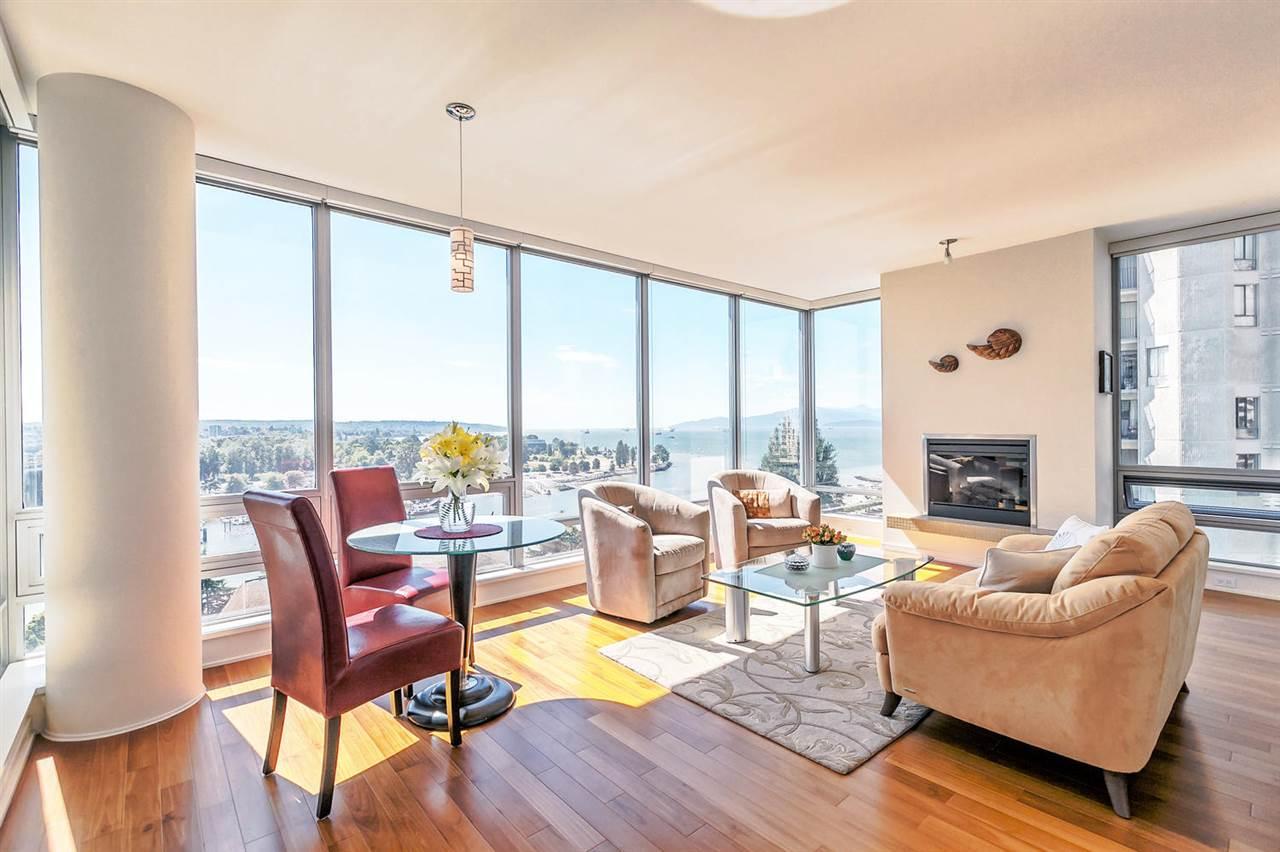 Condo Apartment at 1403 1005 BEACH AVENUE, Unit 1403, Vancouver West, British Columbia. Image 6