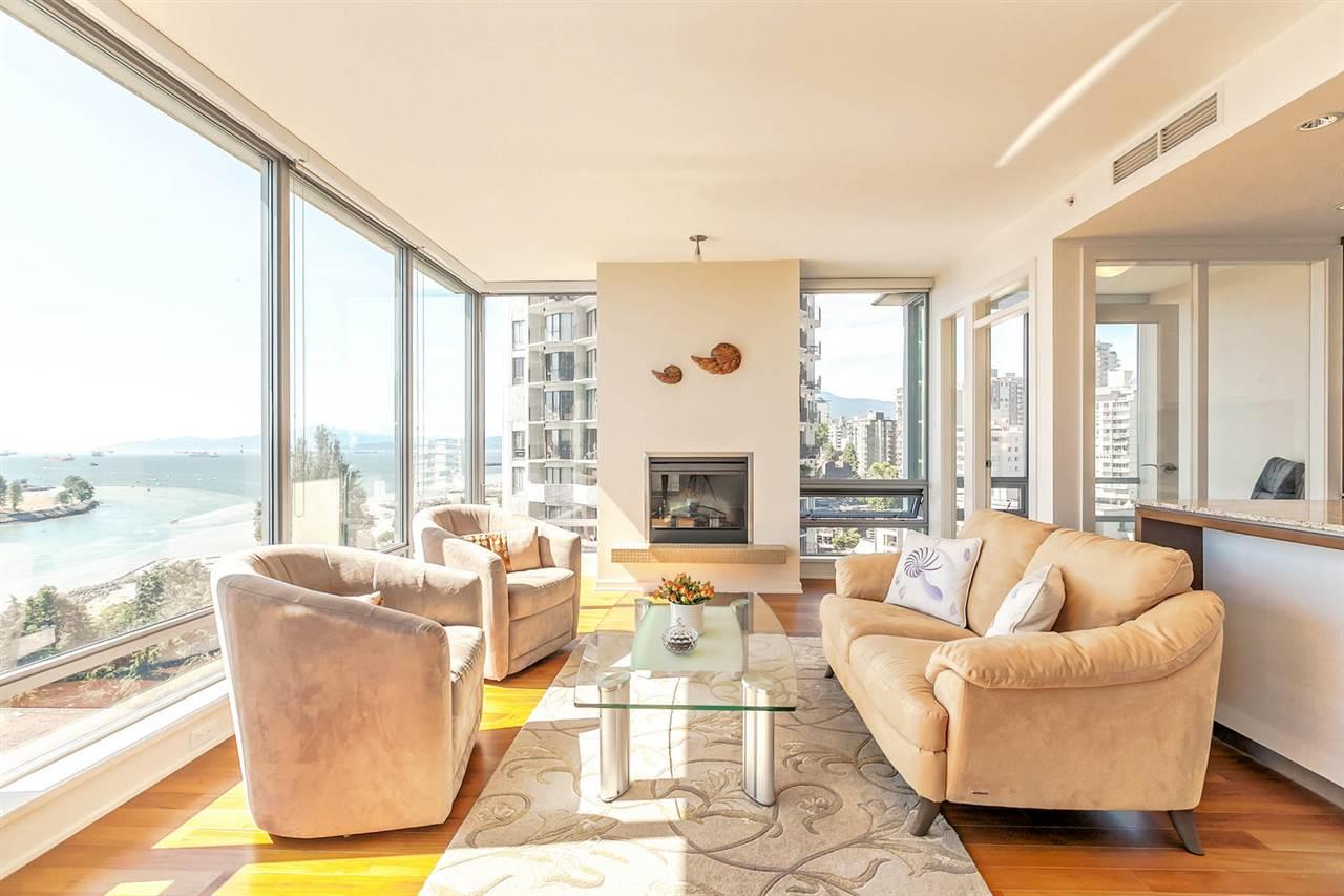 Condo Apartment at 1403 1005 BEACH AVENUE, Unit 1403, Vancouver West, British Columbia. Image 7