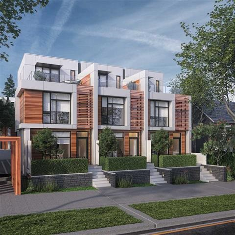 Townhouse at 7358 GRANVILLE STREET, Vancouver West, British Columbia. Image 1