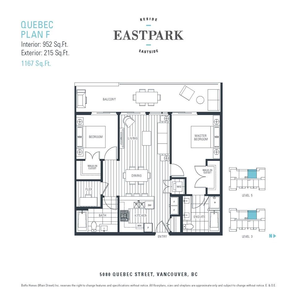 Condo Apartment at 301 5080 QUEBEC STREET, Unit 301, Vancouver East, British Columbia. Image 5