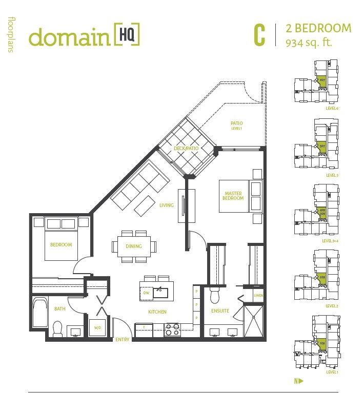 Condo Apartment at 507 10581 140 STREET, Unit 507, North Surrey, British Columbia. Image 2