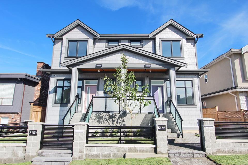 Half-duplex at 5152 NANAIMO STREET, Vancouver East, British Columbia. Image 1