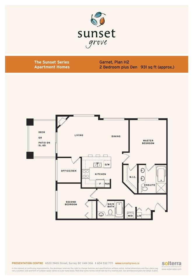 Condo Apartment at 204 6500 194 STREET, Unit 204, Cloverdale, British Columbia. Image 2