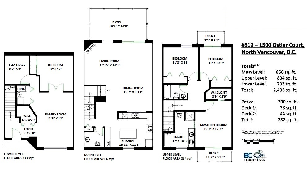 Townhouse at 612 1500 OSTLER COURT, Unit 612, North Vancouver, British Columbia. Image 20
