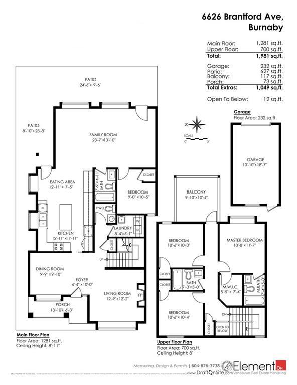 Half-duplex at 6626 BRANTFORD AVENUE, Burnaby South, British Columbia. Image 20