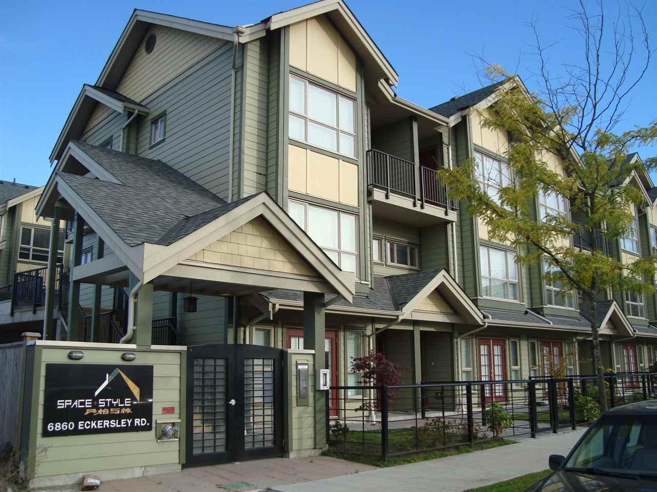 Townhouse at 1 6860 ECKERSLEY ROAD, Unit 1, Richmond, British Columbia. Image 1