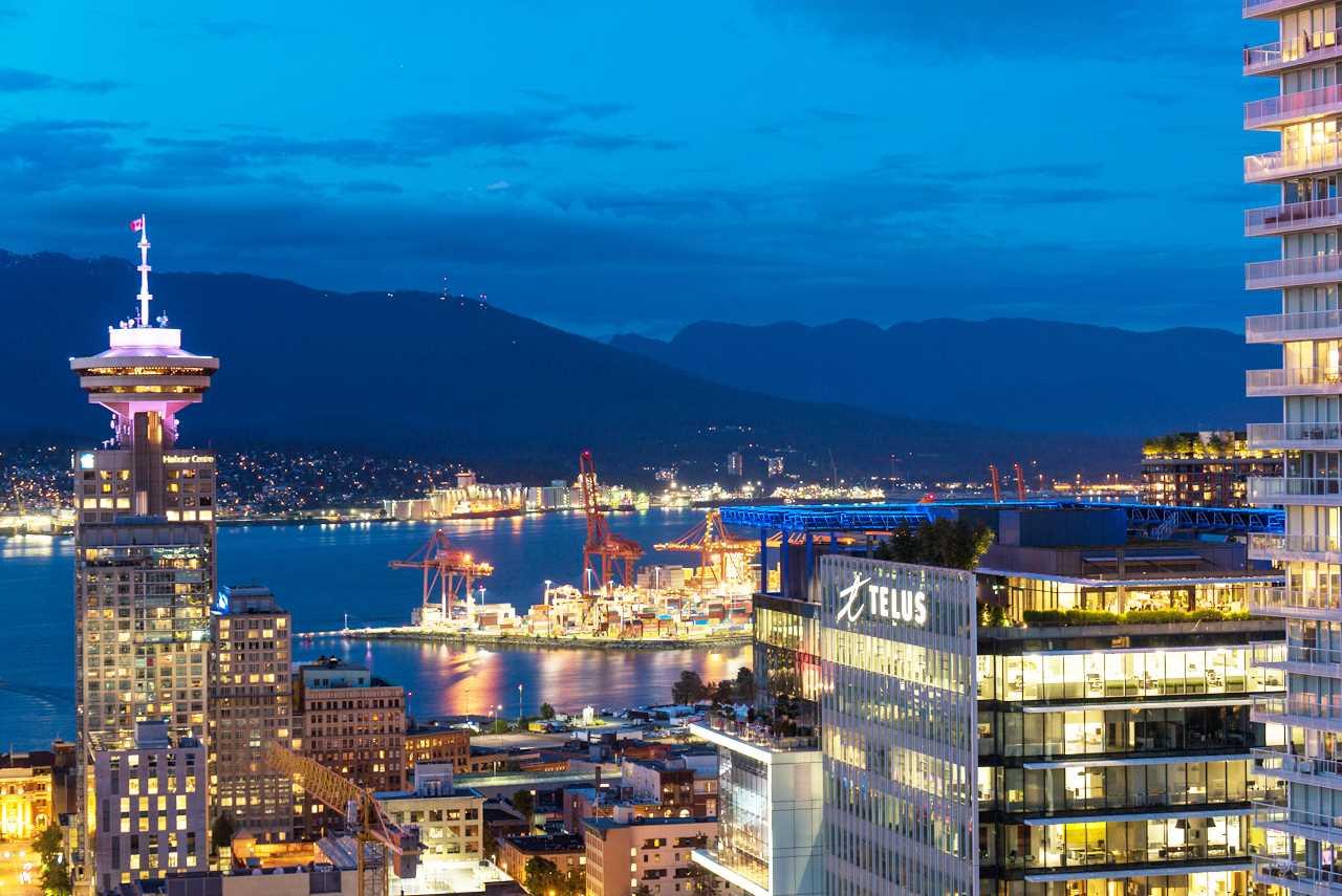 Condo Apartment at 3503 833 SEYMOUR STREET, Unit 3503, Vancouver West, British Columbia. Image 1