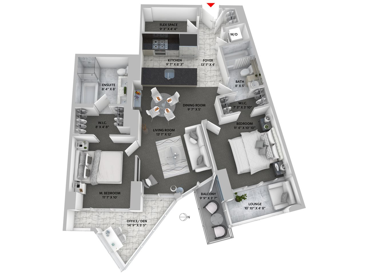 Condo Apartment at 3503 833 SEYMOUR STREET, Unit 3503, Vancouver West, British Columbia. Image 20