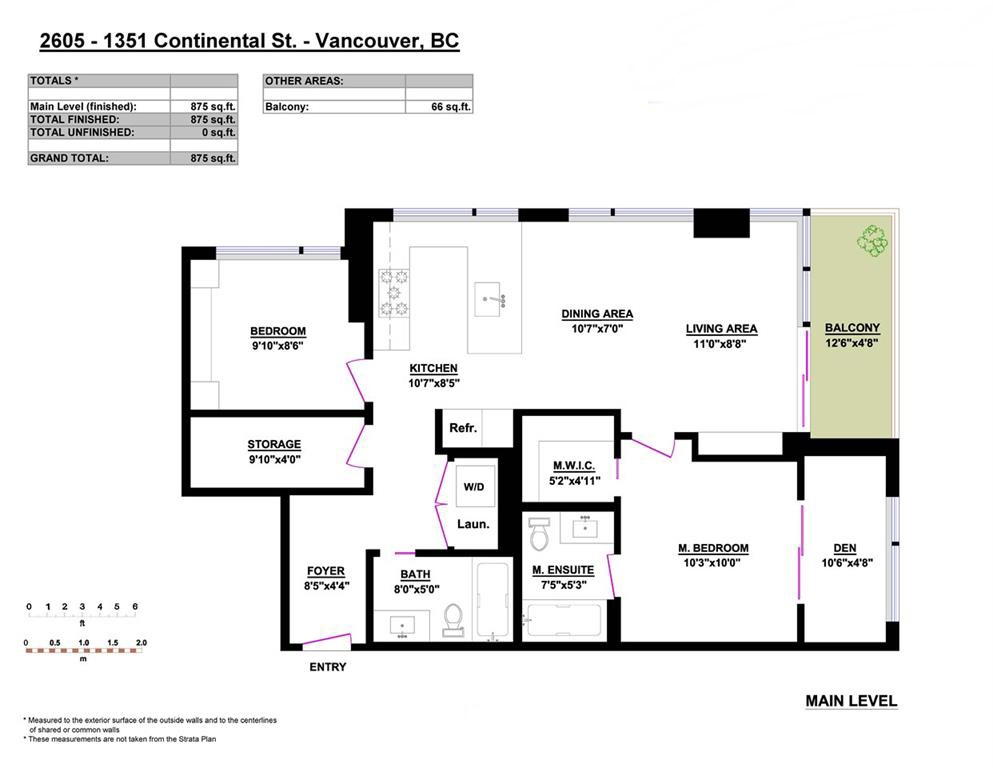 Condo Apartment at 2605 1351 CONTINENTAL STREET, Unit 2605, Vancouver West, British Columbia. Image 10
