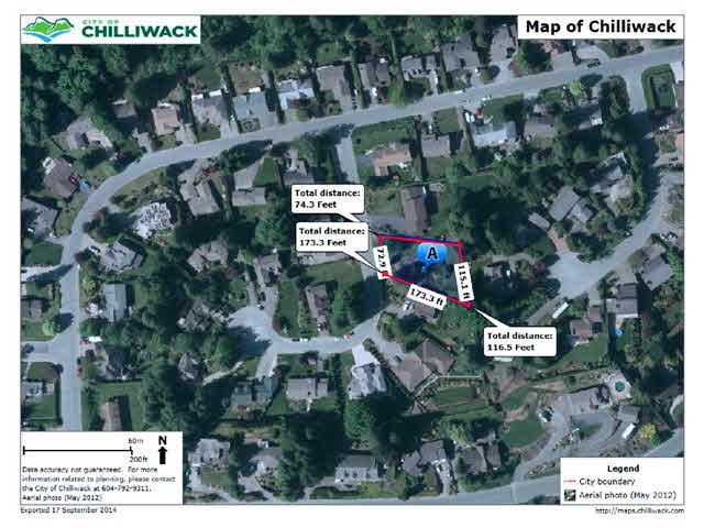 Vacant Land at 10048 EAGLE CRESCENT, Chilliwack, British Columbia. Image 1