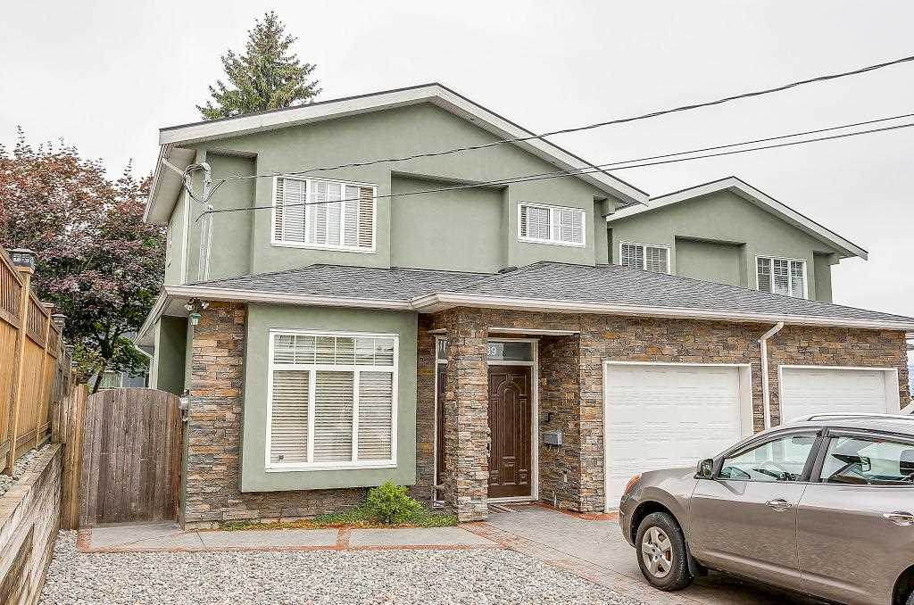 Half-duplex at 6089 WALKER AVENUE, Burnaby South, British Columbia. Image 1