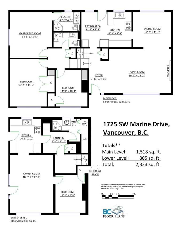 Detached at 1725 SW MARINE DRIVE, Vancouver West, British Columbia. Image 3