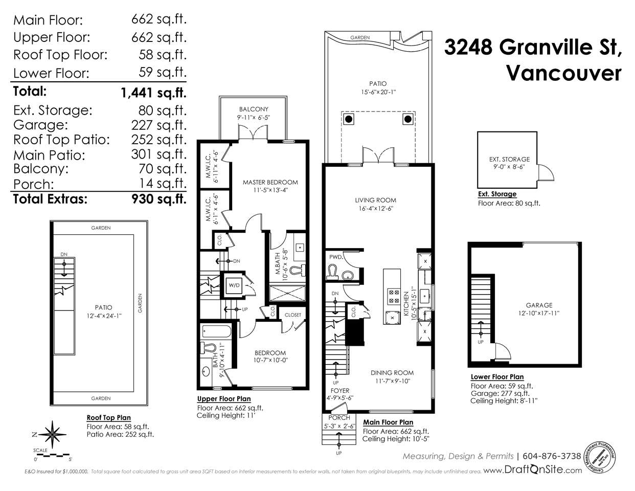Townhouse at 3248 GRANVILLE STREET, Vancouver West, British Columbia. Image 20