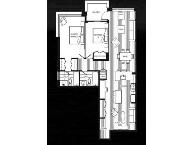 Condo Apartment at 1001 3333 CORVETTE WAY, Unit 1001, Richmond, British Columbia. Image 2