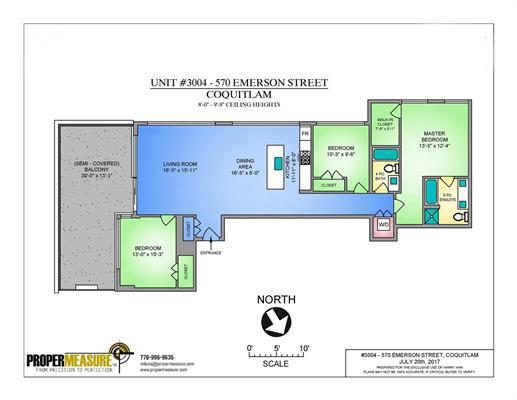Condo Apartment at PH 3004 570 EMERSON STREET, Unit PH 3004, Coquitlam, British Columbia. Image 17
