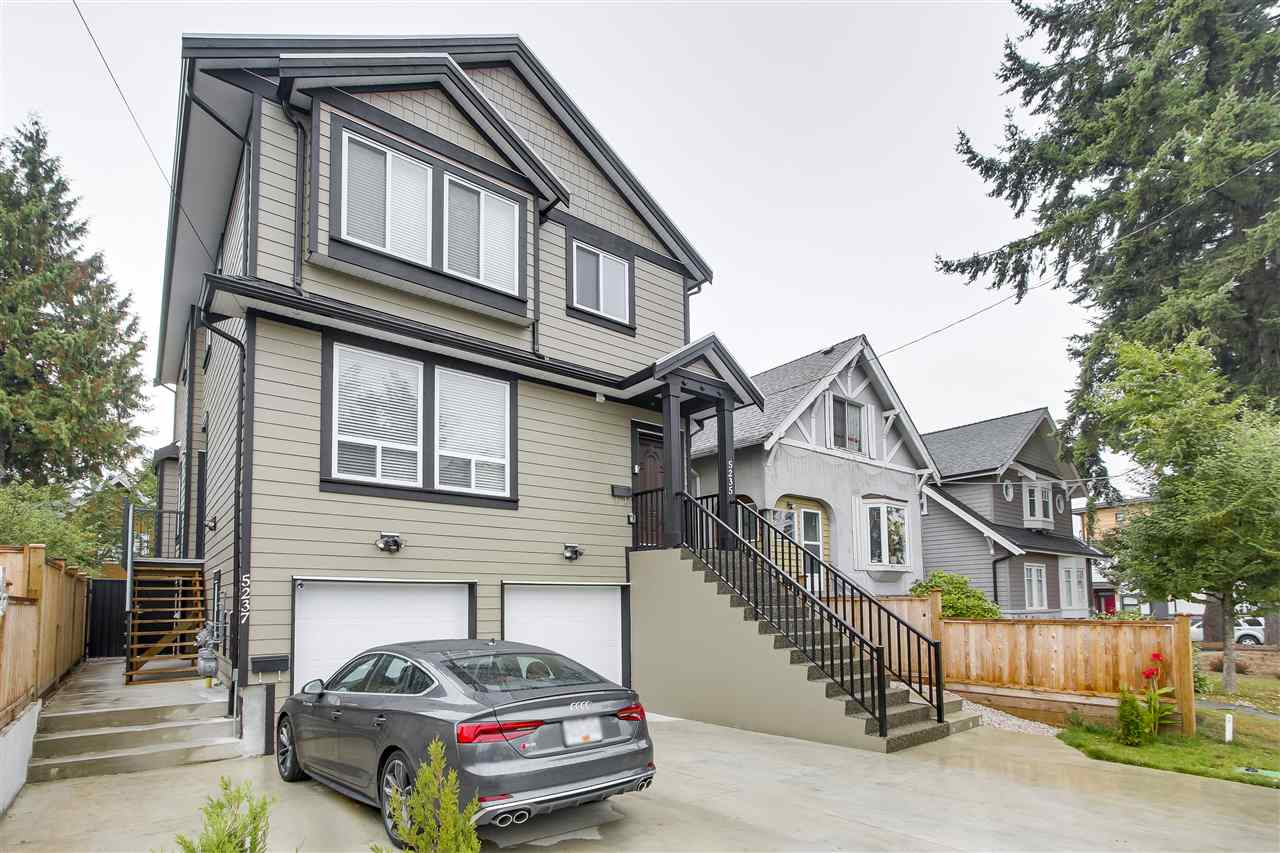 Half-duplex at 5237 CLARENDON STREET, Vancouver East, British Columbia. Image 1
