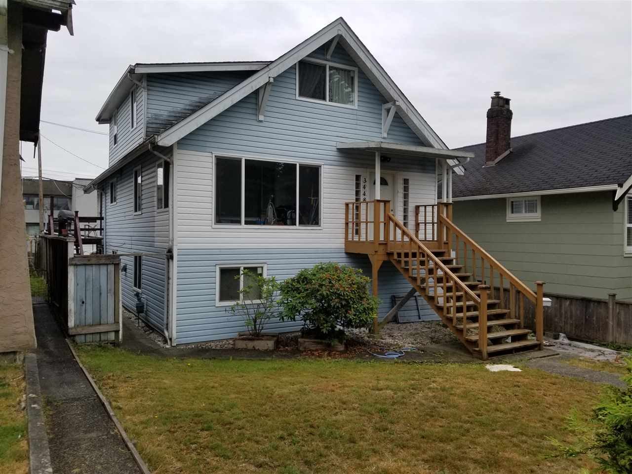Detached at 3448 FRANKLIN STREET, Vancouver East, British Columbia. Image 1