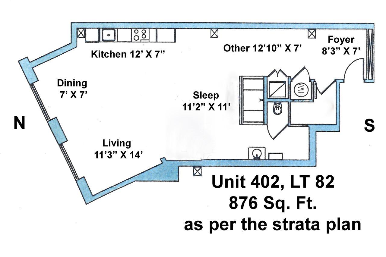 Condo Apartment at 402 55 E CORDOVA STREET, Unit 402, Vancouver East, British Columbia. Image 20
