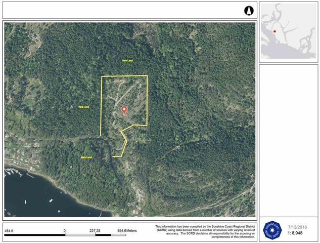Vacant Land at LT 4 CLAYDON ROAD, Unit LT 4, Sunshine Coast, British Columbia. Image 6